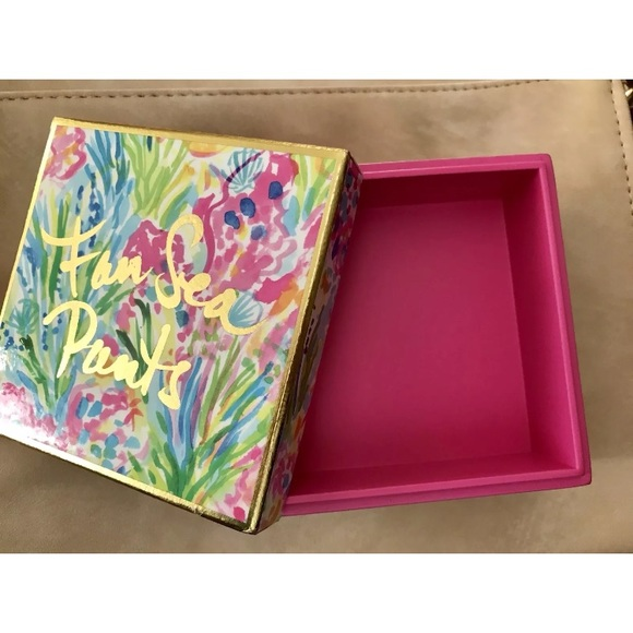 Lilly Pulitzer Other New Lily Pulitzer Jewelry Organizer Box